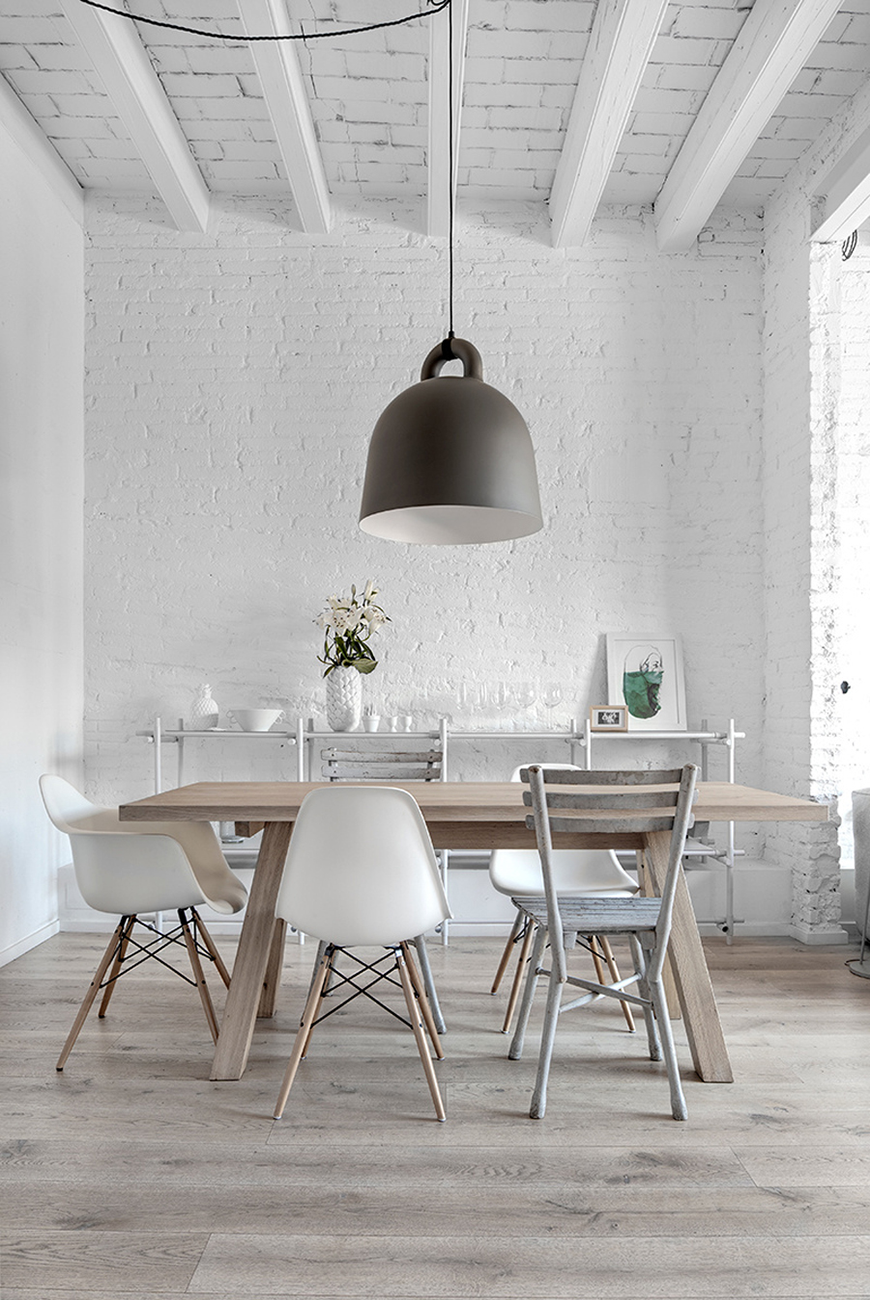 10 Green Dining Room Design Ideas: 10 Colours For Your Dining Room Furniture Chosen By Famous