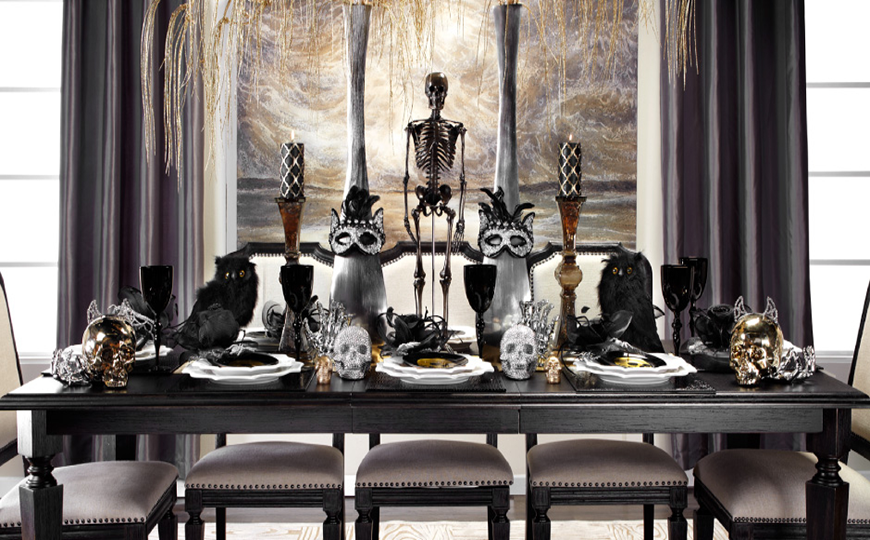 Best Legal Dining Table Centerpiece Halloween decor dining room table Best Legal Dining Room Table Centerpiece Halloween decor 2