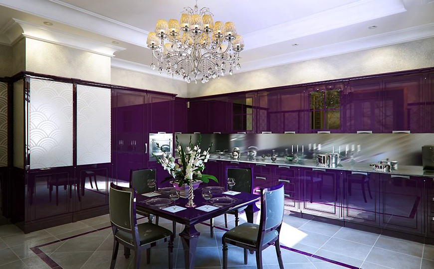 Eye-catching Modern Dining Decor in Purple dining room decor Eye-catching Modern Dining Room Decor in Purple 3Eye catching Modern Dining Room Decor in Purple