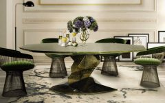 5 Original Ways to Decorate Your Dining Room Sets with Green