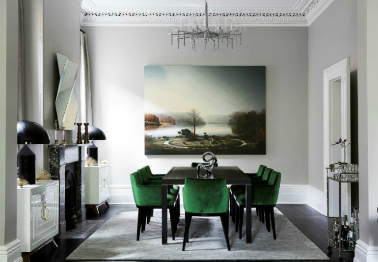 5 Original Ways To Decorate Your Dining Room Sets With