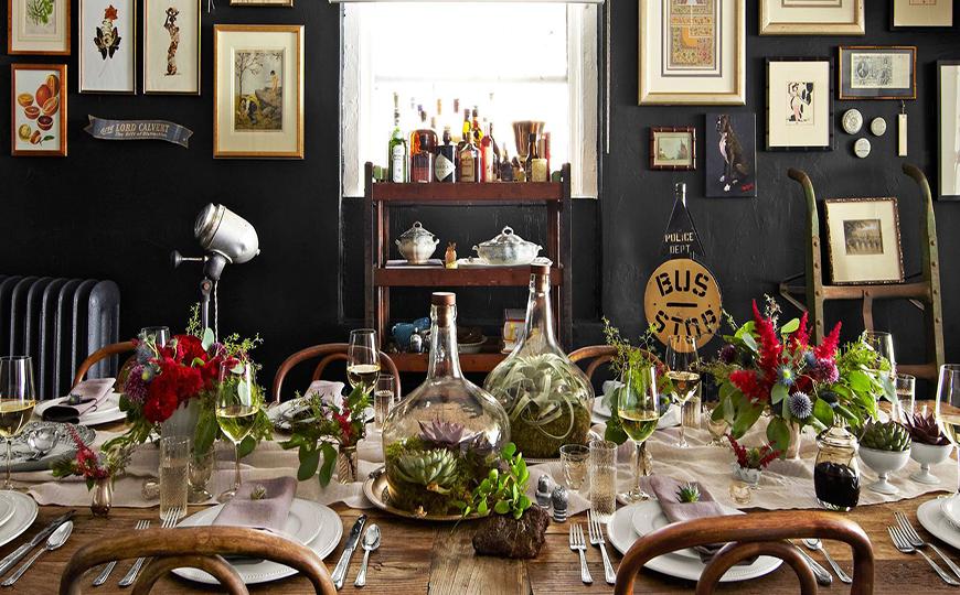 Best Autumn Themed Dining Room Table Centerpiece Ideas