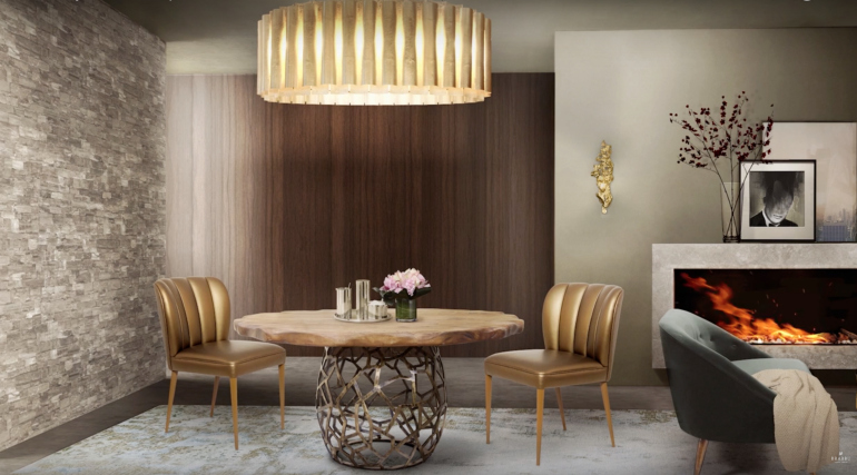 Amazing Dining Room Furniture Sets With Luxury Upholstery