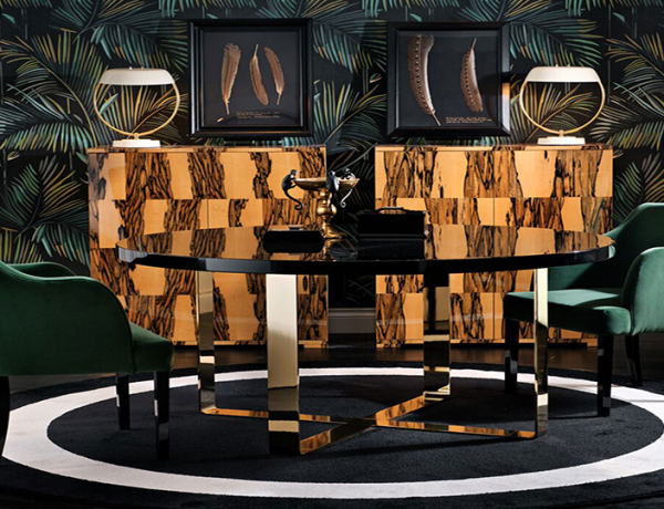 Elegant Dining Room Tables Inspired by Italian Interiors