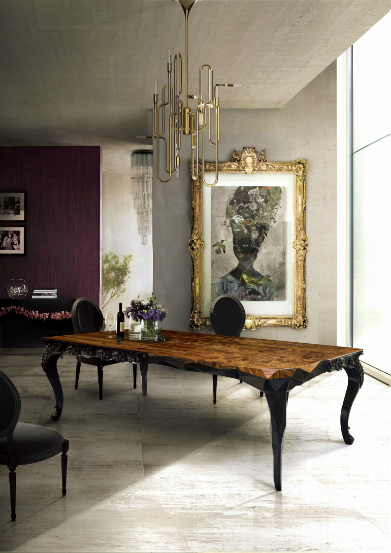 Top 5 Art Inspirations in Modern Dining Room Designs modern dining room Top 5 Art Inspirations in Modern Dining Room Designs Top 5 Art Inspirations in Modern Dining Room Designs 2