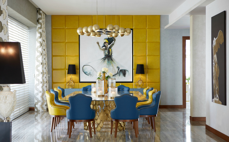 How To Pick Curtains For A Sophisticated Dining Room Design dining room design How To Pick Curtains For A Sophisticated Dining Room Design Top 5 Art Inspirations in Modern Dining Room Designs
