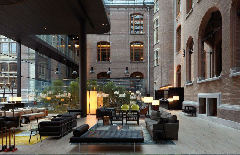 Top 6 Iconic Hospitality Design Projects by Piero Lissoni We Love piero lissoni Top 6 Iconic Hospitality Design Projects by Piero Lissoni We Love Top 6 Iconic Hospitality Design Projects by Piero Lissoni We Love Conservation Hotel em Amesterdao