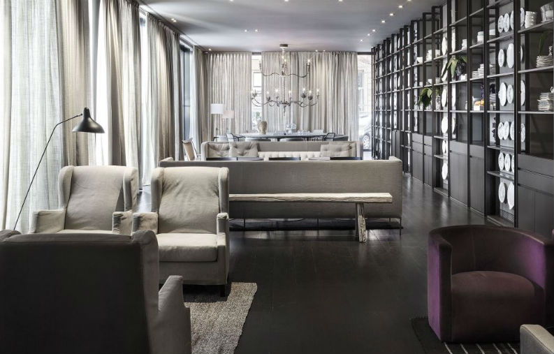 Top 6 Iconic Hospitality Design Projects by Piero Lissoni We Love piero lissoni Top 6 Iconic Hospitality Design Projects by Piero Lissoni We Love Top 6 Iconic Hospitality Design Projects by Piero Lissoni We Love La Mantia restaurant Milan 3