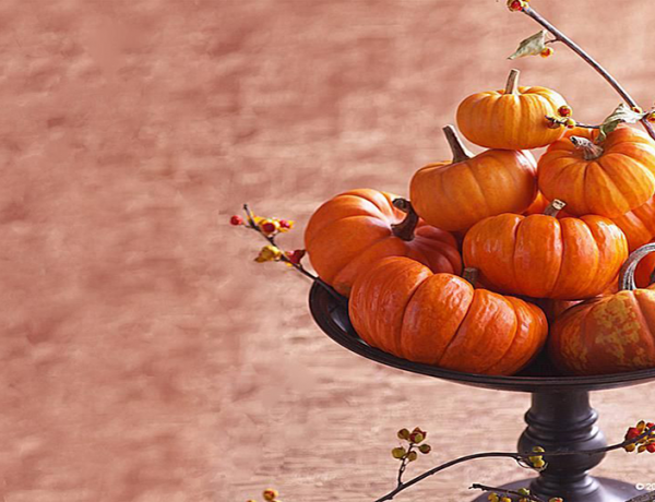 5 Outstanding Thanksgiving Dining Room Centerpiece Improvisations