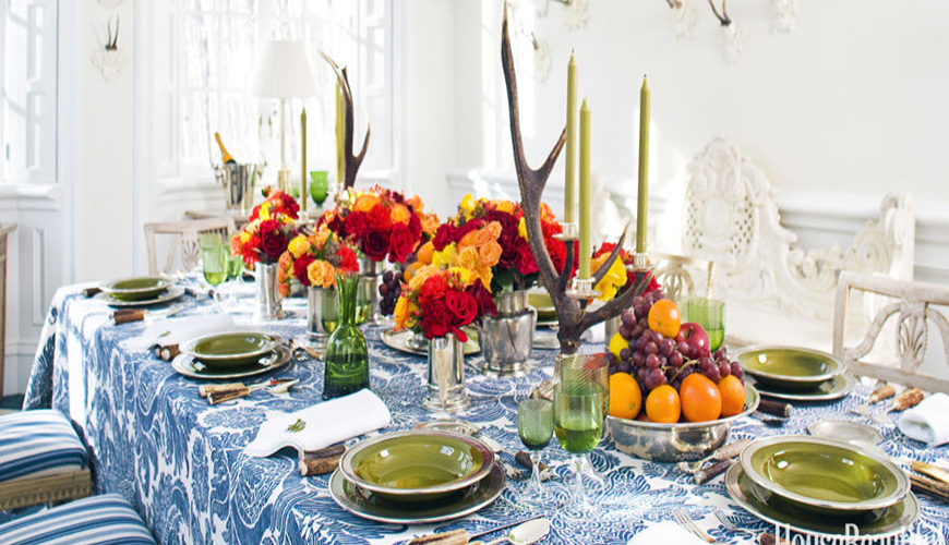 Simple And Amazing Thanksgiving Dining Room Decor Ideas