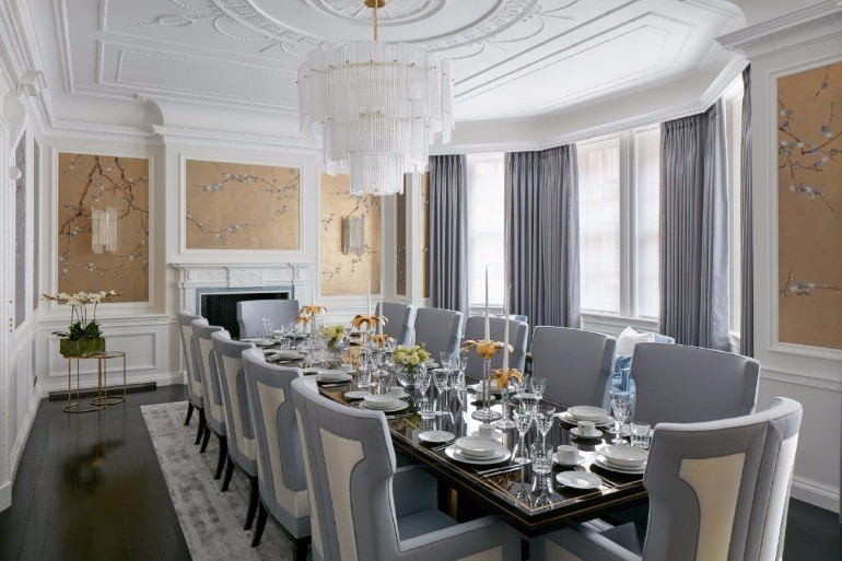 How To Pick Curtains For A Sophisticated Dining Room Design dining room design How To Pick Curtains For A Sophisticated Dining Room Design 10 Sophisticated Dining Room Ideas By Katharine Pooley 5 1