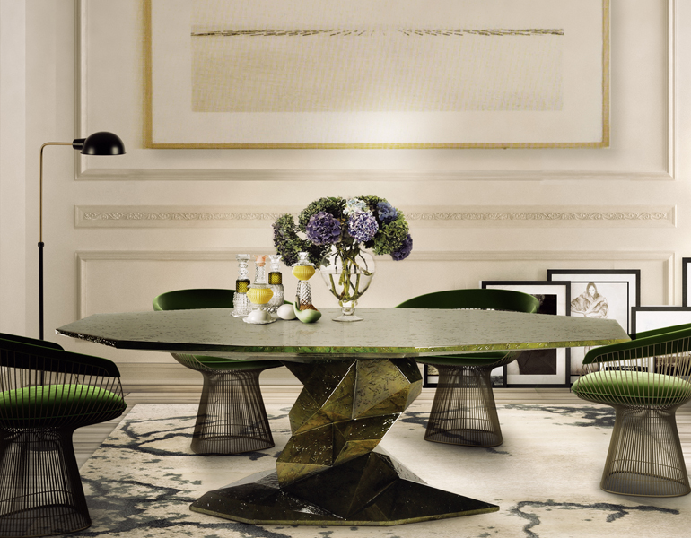 7 Remarkable Dining Room Tables You Will Want To Have Next Season dining room tables 7 Remarkable Dining Room Tables You Will Want To Have Next Season 4