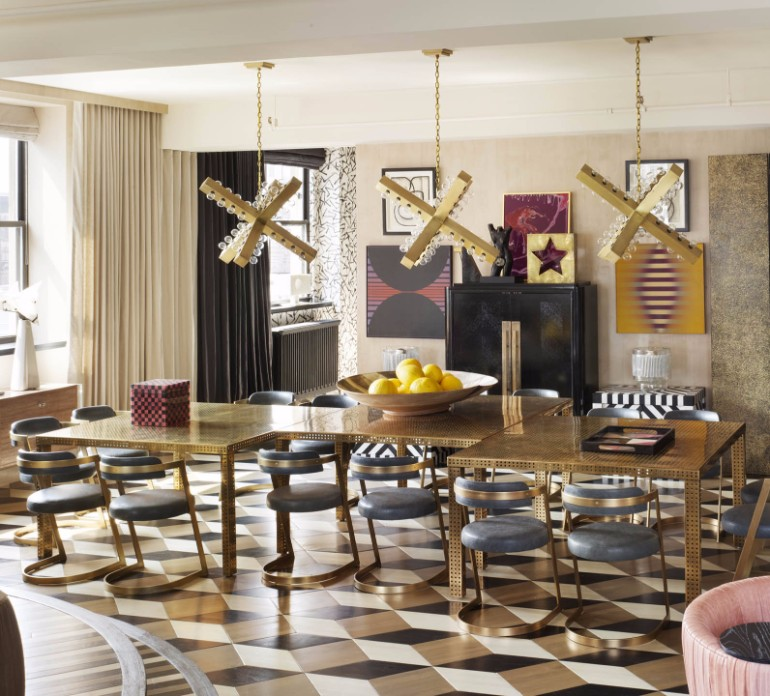 7 Striking Dining Room Ideas By Kelly Wearstler That You Will Love dining room ideas 6 Striking Dining Room Ideas By Kelly Wearstler That You Will Love 7 Striking Dining Room Ideas By Kelly Wearstler That You Will Love 4
