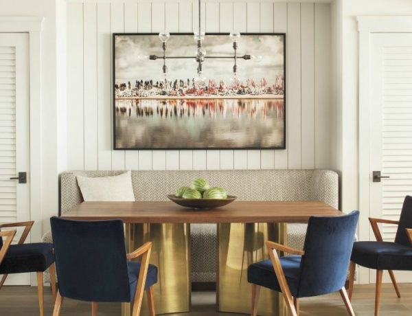 How To Style A Sofa In Your Dining Room Design