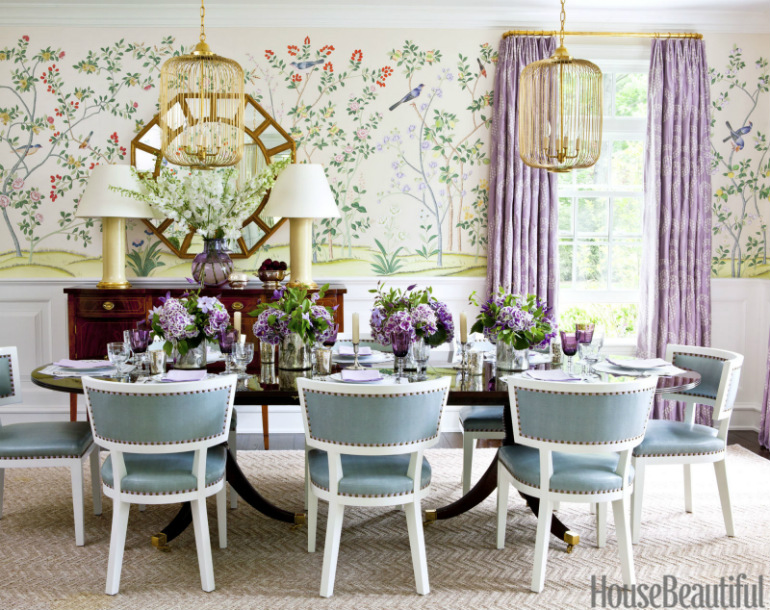 Top Eye-Catching Dining Room Sets Chosen By Designers dining room sets Top Eye-Catching Dining Room Sets Chosen By Designers 06 Stunning Decor Inspiration November 2015 This Is Glamorous