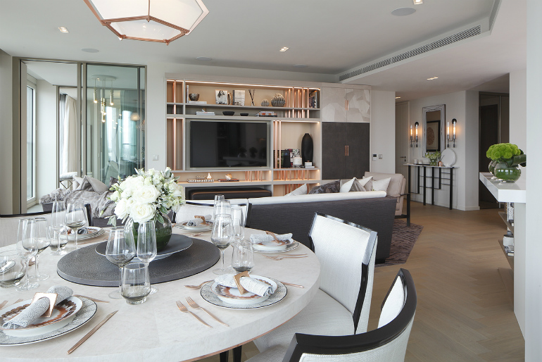 7 Elegant Dining Room Design Ideas By Rachel Winham To Inspire You_SOUTHBANK TOWER APARTMENTS