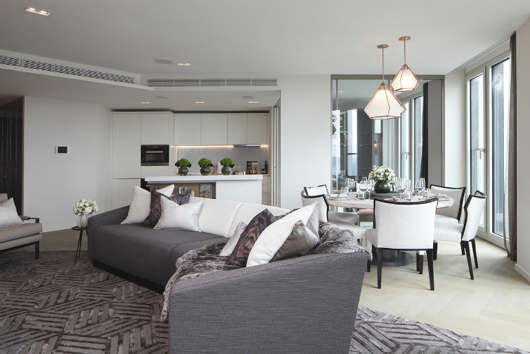 7 Elegant Dining Room Design Ideas By Rachel Winham To Inspire You_SOUTHBANK TOWER APARTMENTS (2)