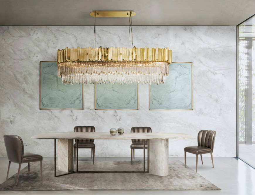 9 Rectangular Dining Tables That Steal The Show rectangular dining tables 9 Rectangular Dining Tables That Steal The Show 7 Reasons Why You Need A Marble Dining Room Table In Your Life 2