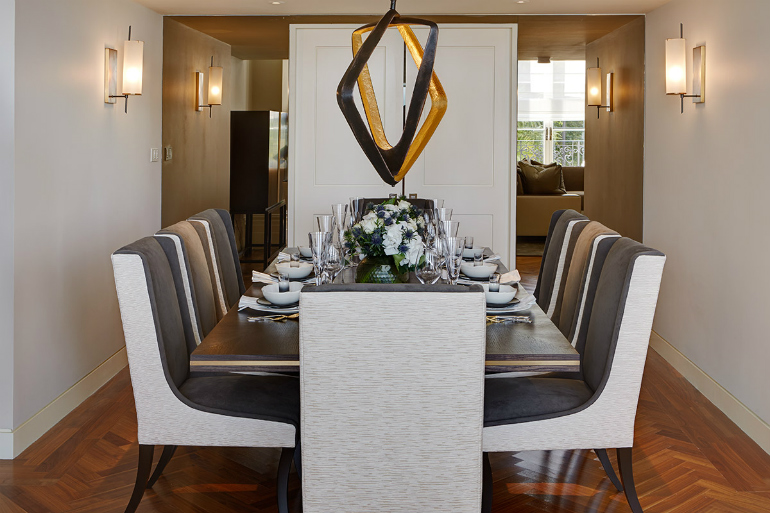 Rachel Winham Projets: THE LANCASTERS dining room design 7 Elegant Dining Room Design Ideas By Rachel Winham To Inspire You 8
