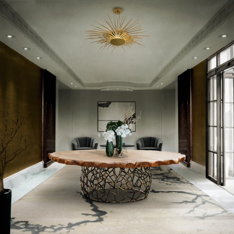 9 Fantastic Entrance Halls With A Statement Dining Room Table dining room table 9 Fantastic Entrance Halls With A Statement Dining Room Table 9 Fantastic Entrance Halls With A Statement Dining Room Table 1