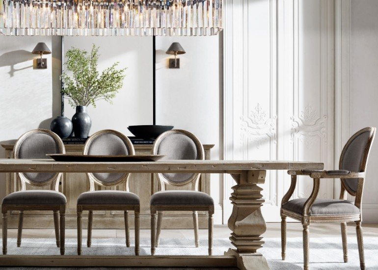 The Most Sophisticated Dining Room Table Designs By Restoration Hardware dining room furniture The Most Sophisticated Dining Room Furniture By Restoration Hardware The Most Sophisticated Dining Room Furniture By Restoration Hardware 12