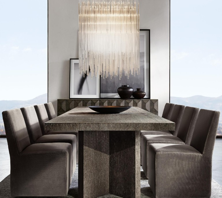 The Most Sophisticated Dining Room Table Designs By Restoration Hardware dining room furniture The Most Sophisticated Dining Room Furniture By Restoration Hardware The Most Sophisticated Dining Room Furniture By Restoration Hardware 3