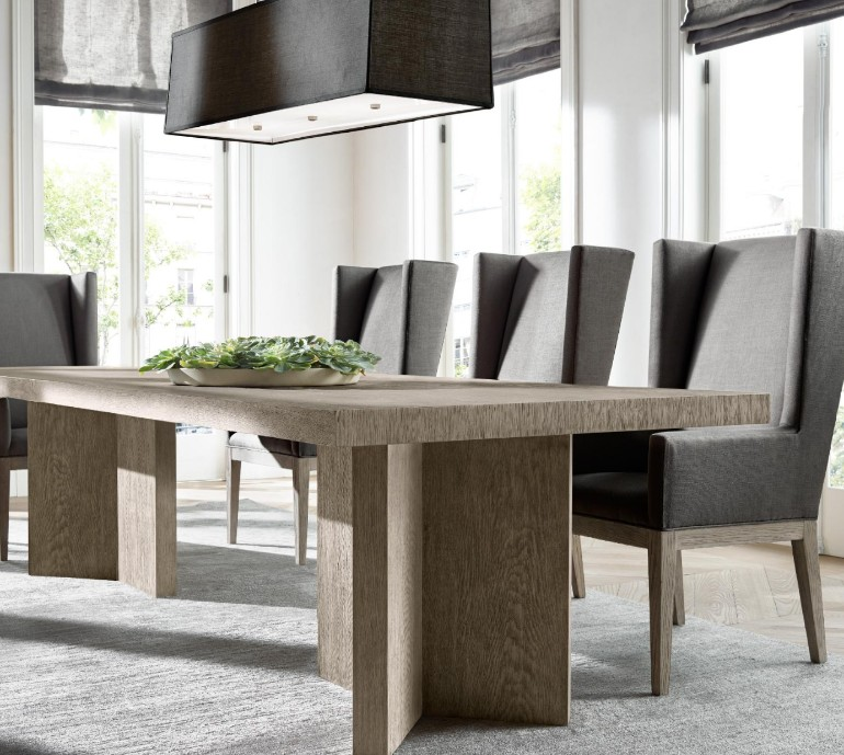 The Most Sophisticated Dining Room Table Designs By Restoration Hardware dining room furniture The Most Sophisticated Dining Room Furniture By Restoration Hardware The Most Sophisticated Dining Room Furniture By Restoration Hardware 4