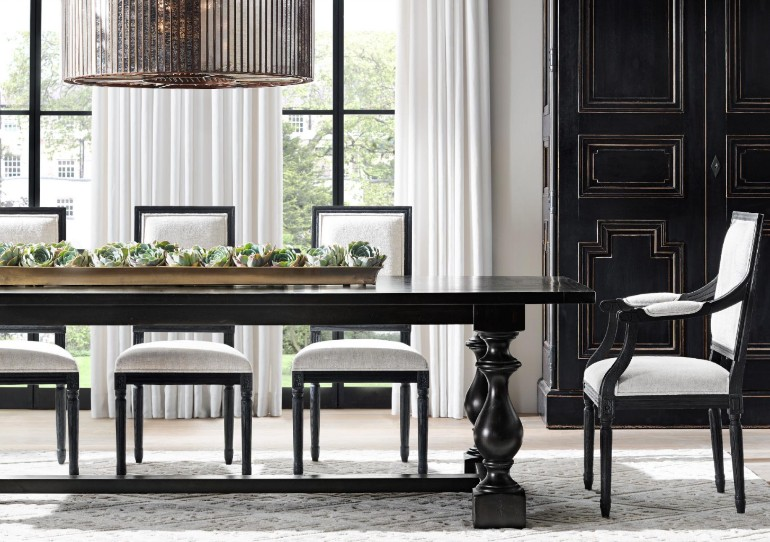 The Most Sophisticated Dining Room Table Designs By Restoration Hardware dining room furniture The Most Sophisticated Dining Room Furniture By Restoration Hardware The Most Sophisticated Dining Room Furniture By Restoration Hardware 9