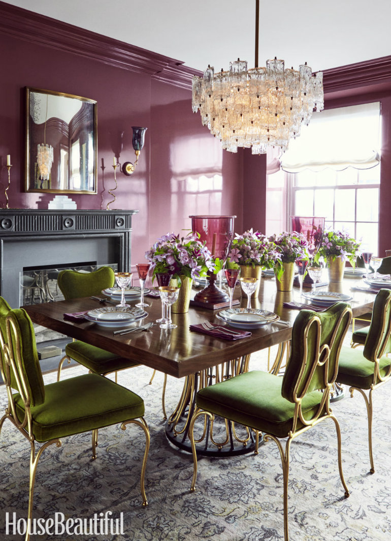7 Wonderful Dining Room Sets In House Beautiful That You Will Love_4 dining room sets 7 Wonderful Dining Room Sets In House Beautiful That You Will Love celerie kemble dining room