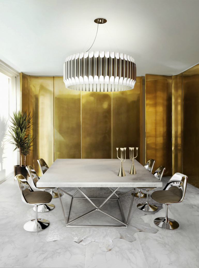 7 Dazzling Dining Room Chandeliers We Can't Resist To dining room chandeliers 7 Dazzling Dining Room Chandeliers We Can't Resist delightfull galliano unique ceiling lamp contemporary chandelier