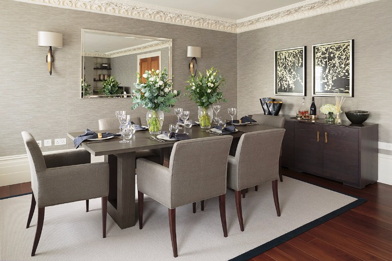 10 Beautiful Neutral Rugs For Dining Room dining room rugs 10 Beautiful Neutral Dining Room Rugs That You Will Covet 10 Beautiful Neutral Dining Room Rugs That You Will Covet 8