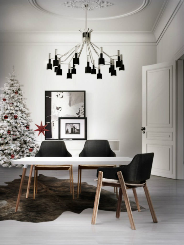 Table This Christmas dining room table How To Decorate Your Dining Room Table This Christmas 15 Wonderful Christmas Decoration Ideas That Will Impress Your Guests 6 1