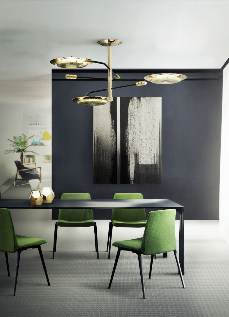 7 Impressive Dining Room Lights For A Modern Atmosphere dining room Dining Rooms: Eye-Catching Modern Lighting 7 Impressive Dining Room Lights For A Modern Atmosphere 1