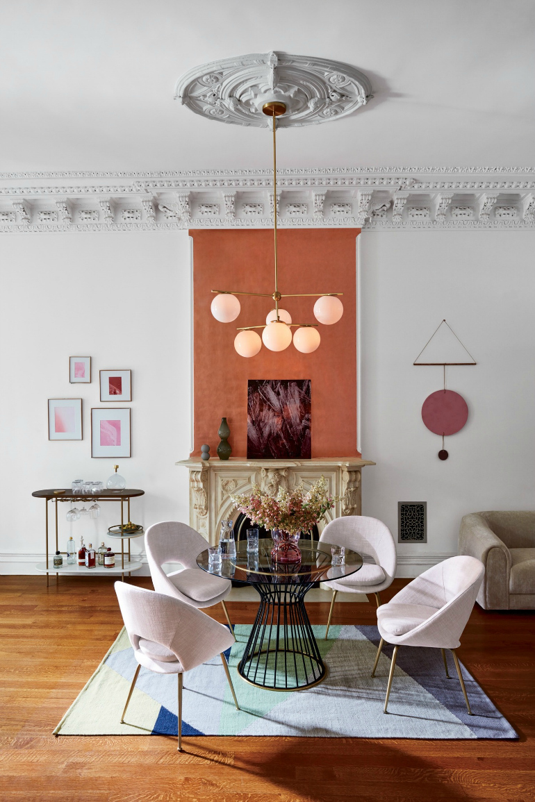 Millennial Pink Dining Room Chairs That Steal The Show dining room chairs Millennial Pink Dining Room Chairs That Steal The Show 7 Incredible Must Have Dining Room Chairs For The Summer 6