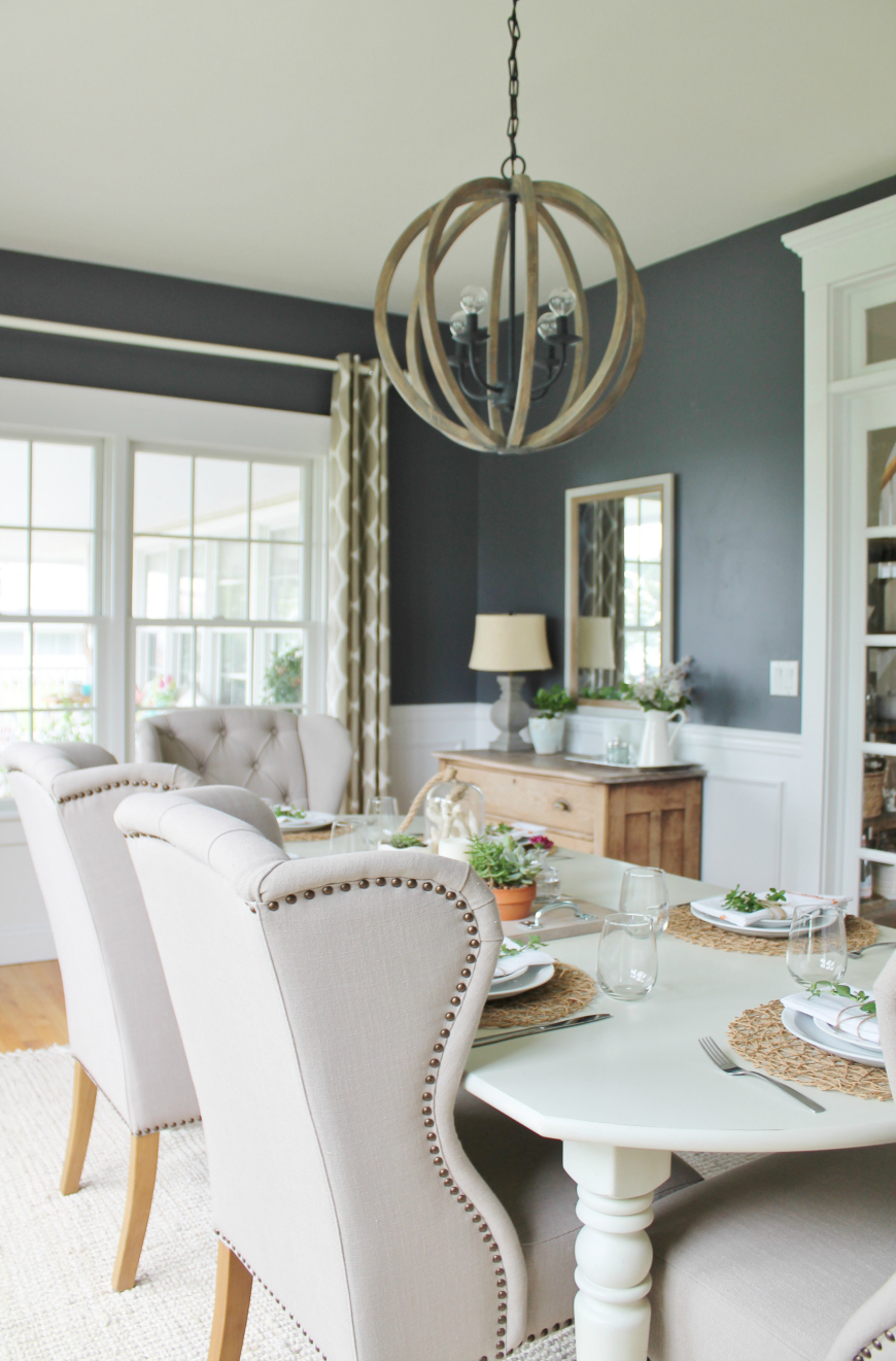 9 dining room decorating ideas that will be trendy this summer for Room decor ideas summer
