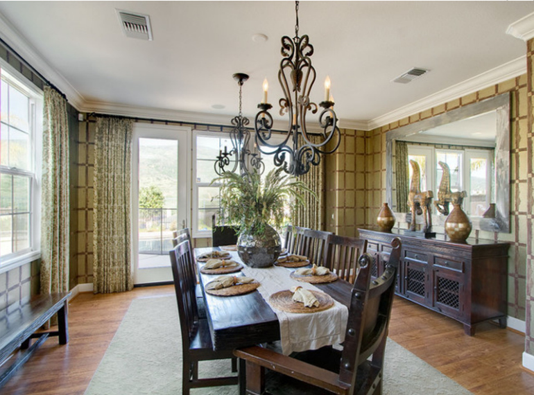 5 secrets to decorating with dining room mirrors dining for Dining room mirror decorating ideas