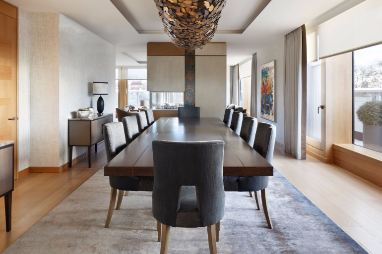 10 Chic Dining Rooms By Helen Green 1