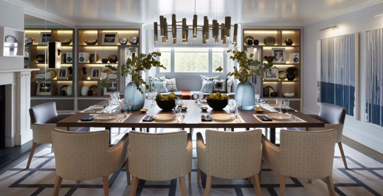 10 Chic Dining Rooms By Helen Green 10