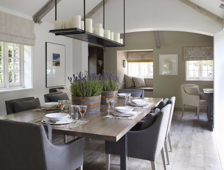10 Chic Dining Rooms By Helen Green 3