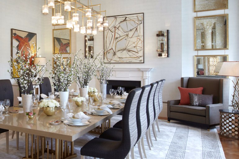 10 Chic Dining Rooms By Helen Green 4
