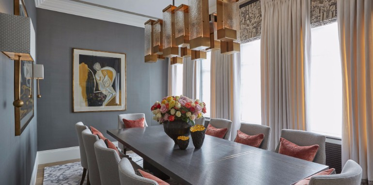 10 Chic Dining Rooms By Helen Green 5