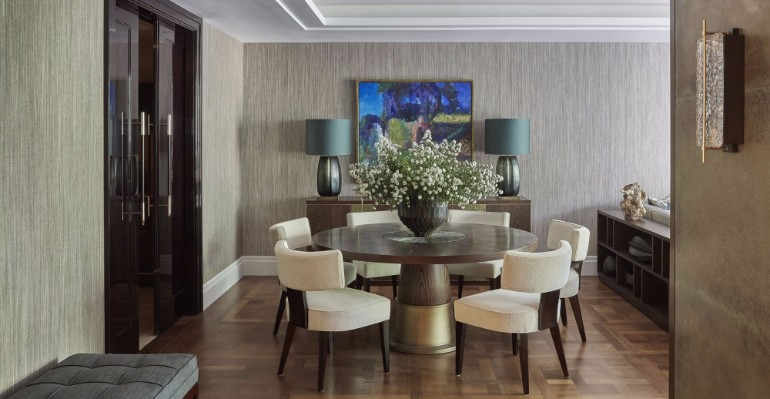 10 Chic Dining Rooms By Helen Green 8