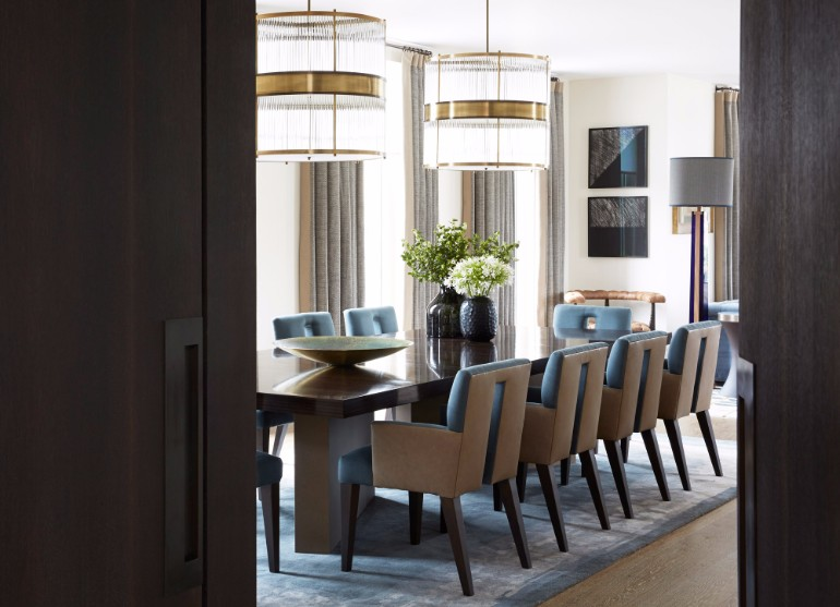 10 Chic Dining Rooms By Helen Green 9