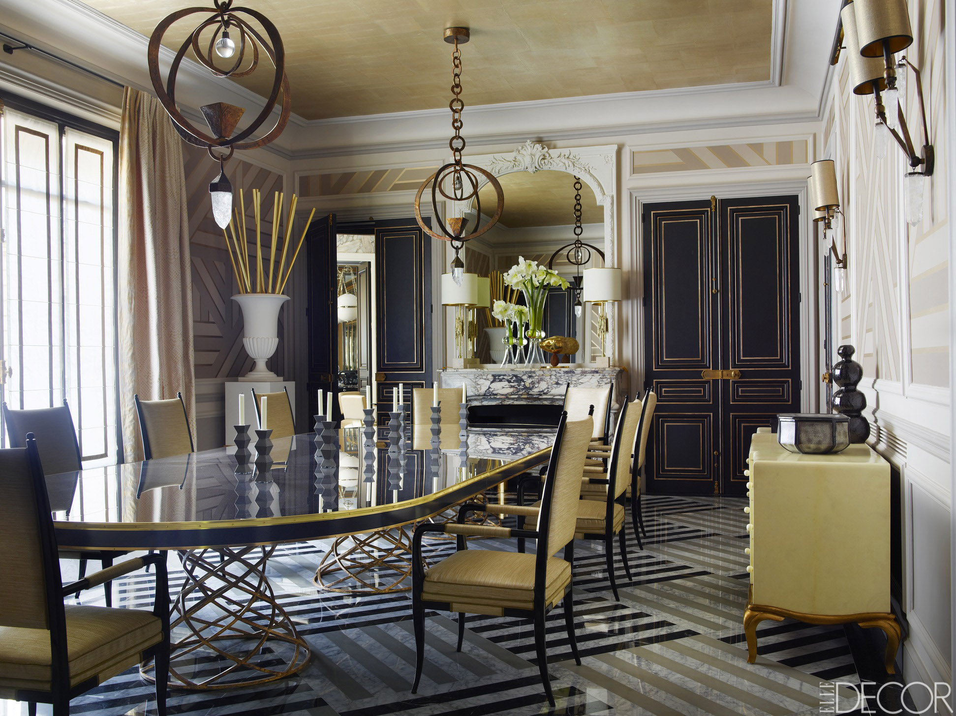 10-Dining-Room-Ideas-to-Inspire-Yourself-by-Elle-Décor-2 Dining Room Ideas 10 Dining Room Ideas to Inspire Yourself by Elle Décor 10 Dining Room Ideas to Inspire Yourself by Elle D  cor 2
