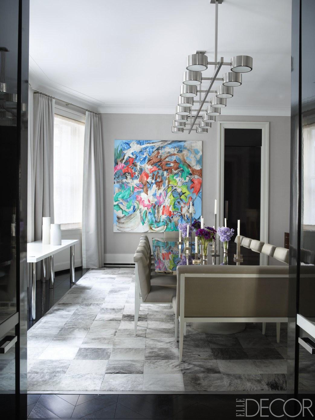 Modern Dining Room Wall Decor Ideas