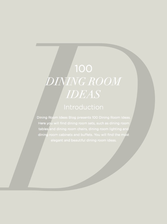 The Ultimate Guide To Dining Room Design Ideas That You Must Have dining room ideas The Ultimate Guide To Dining Room Ideas That You Must Have The Ultimate Guide To Dining Room Ideas That You Must Have 2