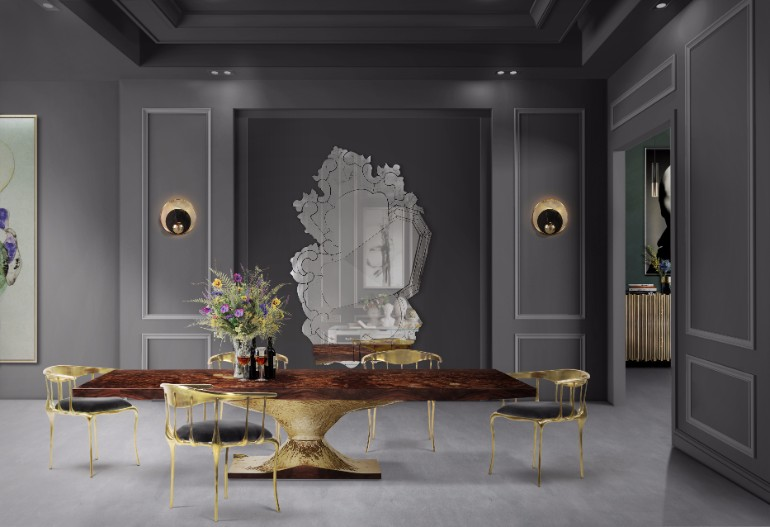 10 Dining Room Mirrors That Steal The Show 5 dining room mirrors 10 Dining Room Mirrors That Steal The Show 10 Dining Room Mirrors That Steal The Show 5