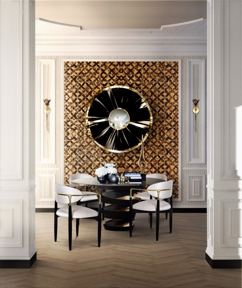 dining room mirrors 10 Dining Room Mirrors That Steal The Show 10 Dining Room Mirrors That Steal the Show 10