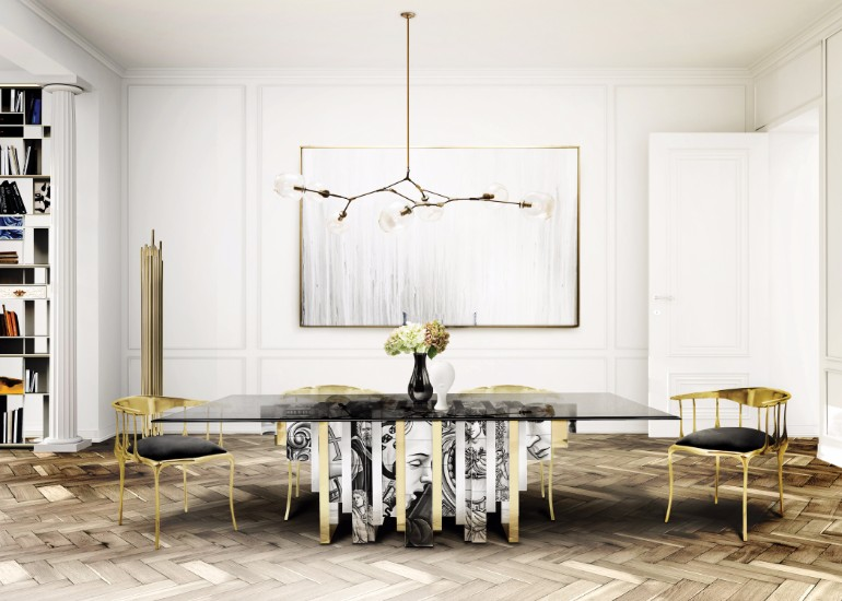8 Metal-Frame Dining Room Chairs That You'll Covet dining room chairs 8 Metal-Frame Dining Room Chairs That You'll Covet 10 Velvet Dining Room Chairs That Youll Covet 2