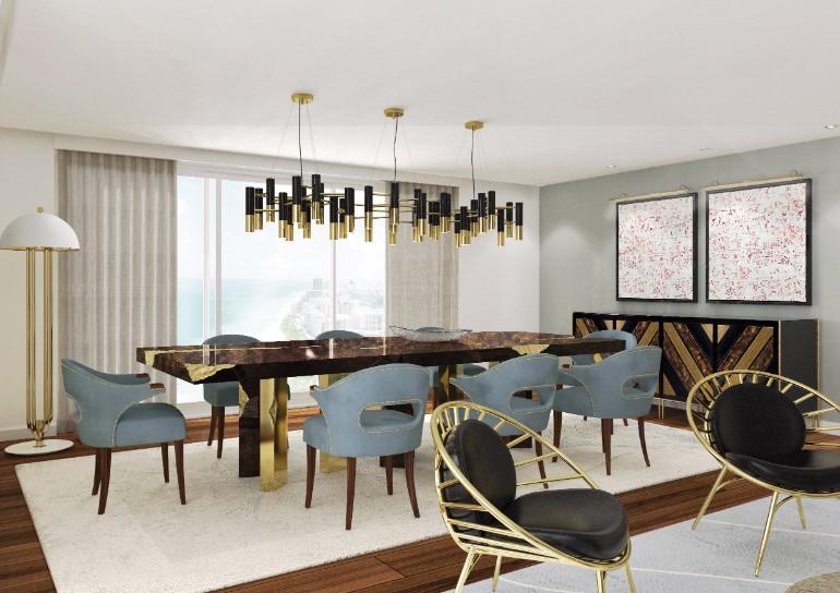 10 Velvet Dining Room Chairs That You'll Covet 3